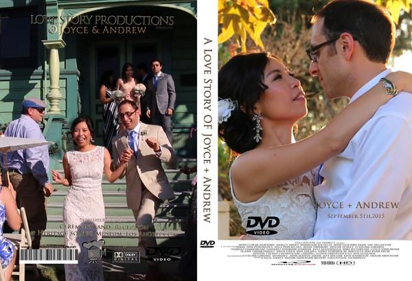 1459999175845 Joyceandrew Dvdcover Pasadena wedding videography