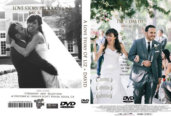 1459999278119 Lizdavid Dvd Cover Pasadena wedding videography