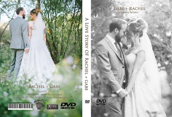 1459999375822 Rachel  Gabe Dvdcover   Pasadena wedding videography