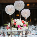 130x130 sq 1403289940352 crystal ball on stand with flowers