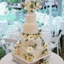 130x130 sq 1361997748817 weddingcakewithtextureddesignandsugarflowers