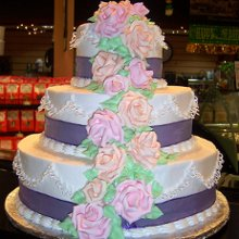 220x220 sq 1354296559921 floralweddingcakeedited