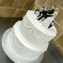 220x220 sq 1494257060091 biker wedding cake 3 copy