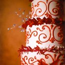 130x130 sq 1339024909868 weddingcakered