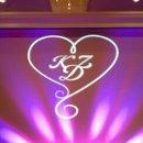 130x130 sq 1325818839328 heartmonogramfuschiauplighting