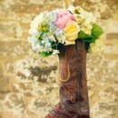 130x130 sq 1375765158197 bouquet boot on barrel