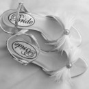 130x130 sq 1375765653759 bride shoes with feathers