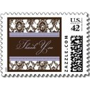 130x130 sq 1226985259360 chocolate lavender fancy thank you sm postage p172713344802965415vldr 325