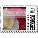 130x130 sq 1226985375970 white red roses our wedding small postage p172746635677620124vldr 325