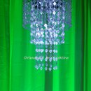 130x130 sq 1363484173145 orlandodjandlightinggreenchandelierrentalcrystal