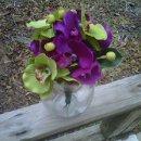 130x130 sq 1295384152155 orchid20centerpiece7ebouquet