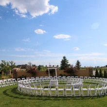 220x220 sq 1425076004196 circular ceremony set up