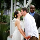first kiss, ceremony, destination wedding, Riu Ocho Rios, Jamaica