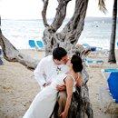 bride and groom, destination wedding, Riu Ocho Rios, Jamaica, beach wedding
