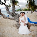 bride and groom, destination wedding, Riu Ocho Rios, Jamaica, beach wedding