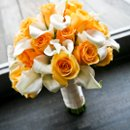 130x130 sq 1264648293110 yellowandwhitebouquet