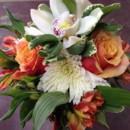 130x130 sq 1403621745744 peach and white bouquet
