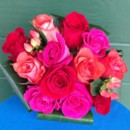 130x130 sq 1403621747893 red and pink rose bouquet