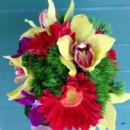 130x130 sq 1403621749663 vibrant bouquet