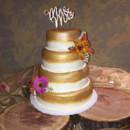 130x130 sq 1479392729356 engman wedding gold painted rev