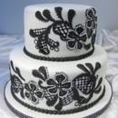 130x130 sq 1375665540399 black cakes show cakes 003