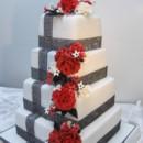 130x130 sq 1375665701953 black cakes show cakes 011