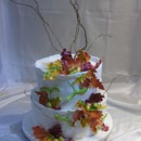 130x130 sq 1381243711216 fall leaves cake 002