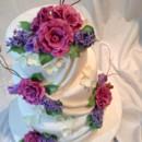 130x130 sq 1401198975388 lilac cake 00
