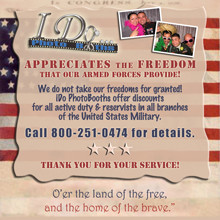 220x220 sq 1375810541214 ido photobooths 220 ww deal military discounts
