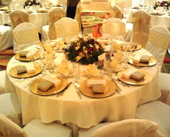 photo 6 of Bella - Wedding chair covers, linens  & $1.00 Charger Plate Rental