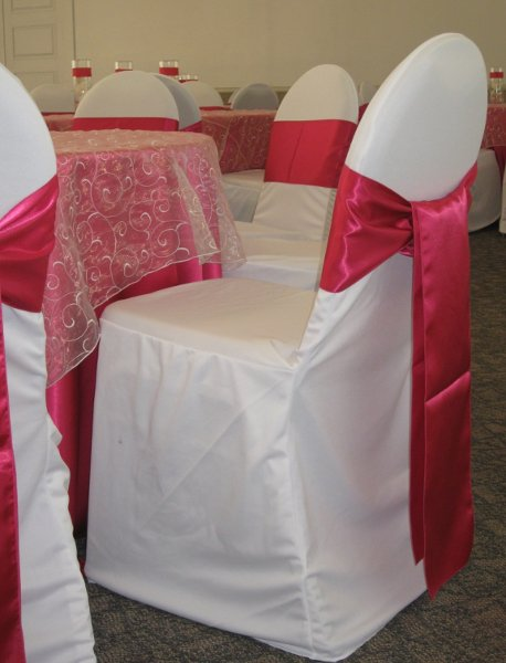 photo 12 of Bella - Wedding chair covers, linens  & $1.00 Charger Plate Rental