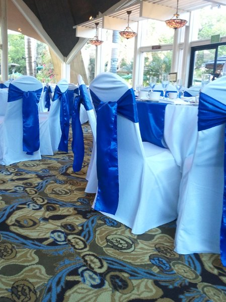 photo 13 of Bella - Wedding chair covers, linens  & $1.00 Charger Plate Rental