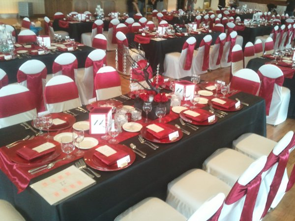 photo 14 of Bella - Wedding chair covers, linens  & $1.00 Charger Plate Rental