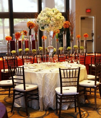 photo 16 of Bella - Wedding chair covers, linens  & $1.00 Charger Plate Rental