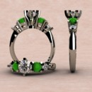 130x130 sq 1390595966860 cabachon jade and diamond rin