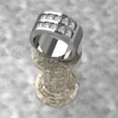 130x130 sq 1390596127847 double channel set diamond ban