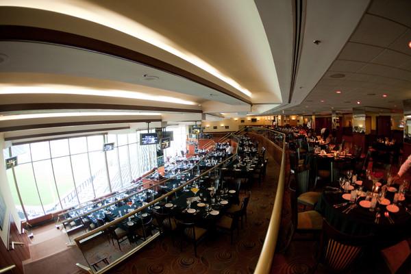 stadium club  guaranteed rate field levy restaurants chicago il wedding venue