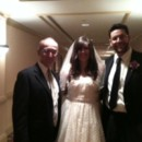 130x130 sq 1425869389101 wp6 rabbi david with bride laura and groom jonatha