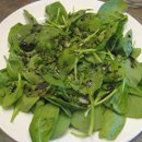 130x130 sq 1340998508189 spinachandherbsalad
