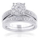 130x130_sq_1384545646181-cluster-diamond-engagement-ring-set-125ct-14k-gold