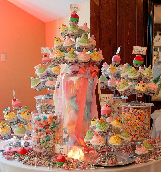 Cupcake Station For Childrens