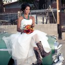 130x130 sq 1361473122861 bridewithcowboyboots