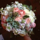 130x130 sq 1404241111675 soft pinks and creams bridal bouquet2