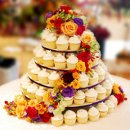 130x130 sq 1229875841507 overbrook wedding cake