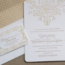 130x130 sq 1326885073905 wrapsodyinvitationsletterpresswedding