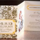 130x130 sq 1326885087919 wrapsodyinvitationsletterpresswedding12