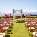 130x130 sq 1485482487936 villas ceremony with chiavari chairs and leis on c
