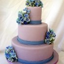 130x130 sq 1283124561359 violetandbluehydrangeasweddingcake