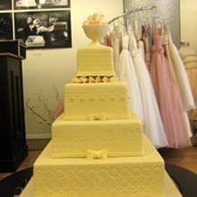 220x220 sq 1310180723689 yellowrosebowlweddingcake