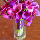 130x130 sq 1386554635511 purple pink mini calla bouquet the wild orchid wed